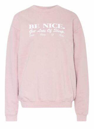 SPORTY & RICH Sweatshirt Damen, Pink