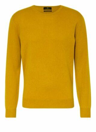 STROKESMAN'S Cashmere-Pullover Herren, Gelb