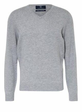 STROKESMAN'S Cashmere-Pullover Herren, Grau
