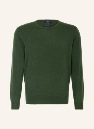 STROKESMAN'S Cashmere-Pullover Herren, Grün