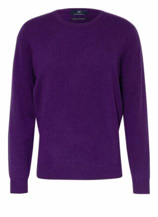 STROKESMAN'S Cashmere-Pullover Herren, Lila