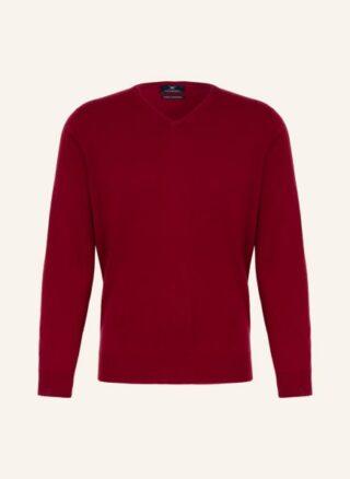 STROKESMAN'S Cashmere-Pullover Herren, Rot