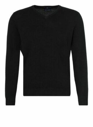STROKESMAN'S Cashmere-Pullover Herren, Schwarz