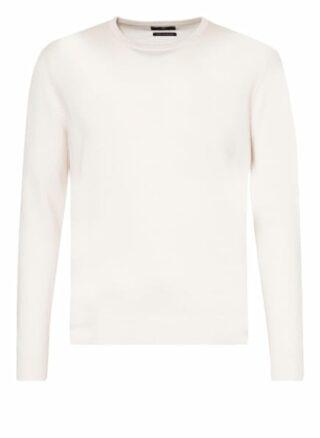 STROKESMAN'S Cashmere-Pullover Herren, Weiß