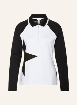 Sportalm Jersey-Poloshirt Damen, Schwarz