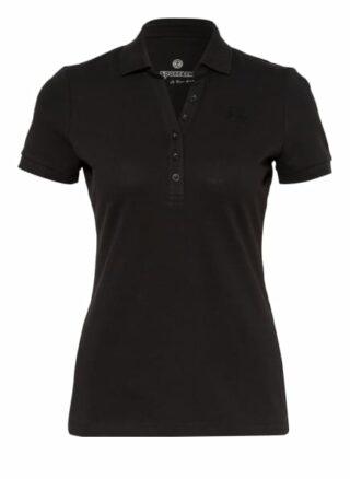 Sportalm Piqué-Poloshirt Damen, Schwarz