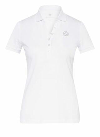 Sportalm Piqué-Poloshirt Damen, Weiß