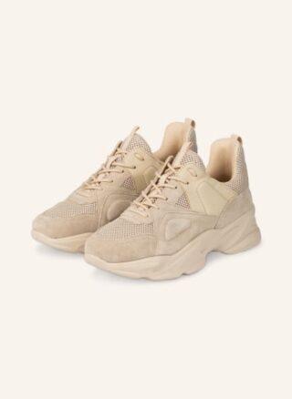 Steve Madden Movement Plateau-Sneaker Damen, Beige
