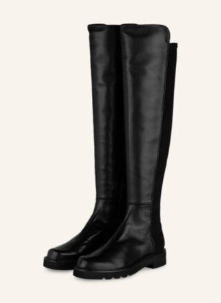 Stuart Weitzman 5050 Lift Overknee-Stiefel Damen, Schwarz