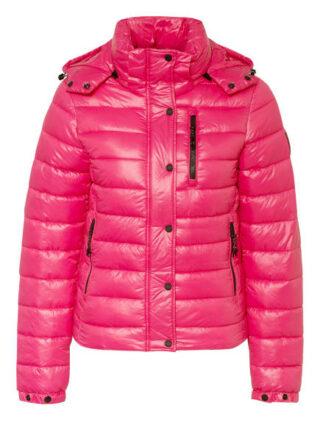 Superdry Shine Fuji Steppjacke Damen, Pink