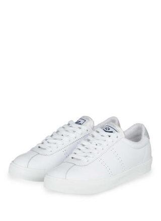 Superga Comflealame Sneaker Damen, Silber