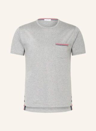 THOM BROWNE. T-Shirt Herren, Grau