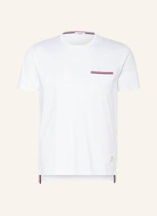 THOM BROWNE. T-Shirt Herren, Weiß