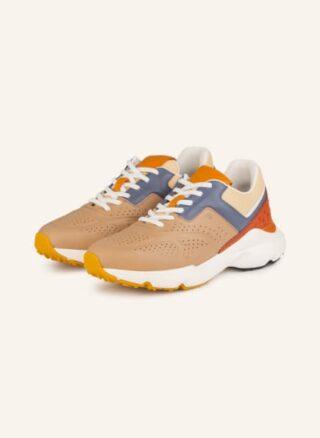 TOD'S Sportivo Run 54 Plateau-Sneaker Damen, Braun