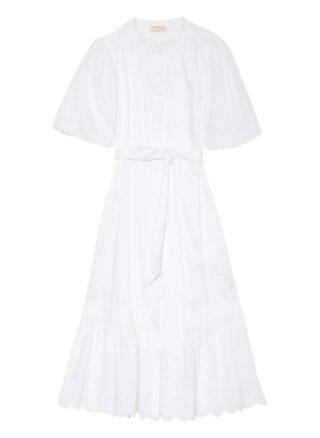 TORY BURCH Strandkleid Damen, Weiß