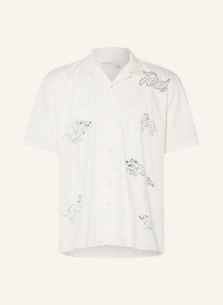 Ted Baker Budgedd Resorthemd Herren, Weiß