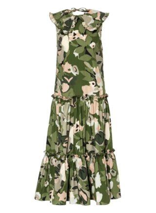 Ted Baker Norflk Kleid in A-Linie Damen, Grün