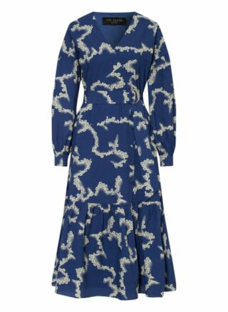 Ted Baker Oapall Ausgestelltes Kleid Damen, Blau