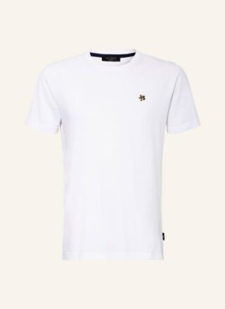 Ted Baker Oxford T-Shirt Herren, Weiß