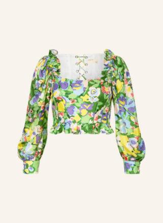 Ted Baker Parasol Blusenshirt Damen, Grün