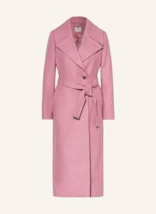Ted Baker Rrosiey Wollmantel Damen, Pink