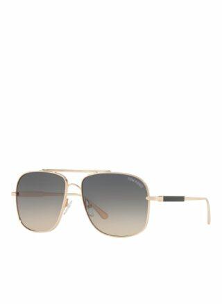 Tom Ford tr001025 Jude Sonnenbrille Damen, Gold