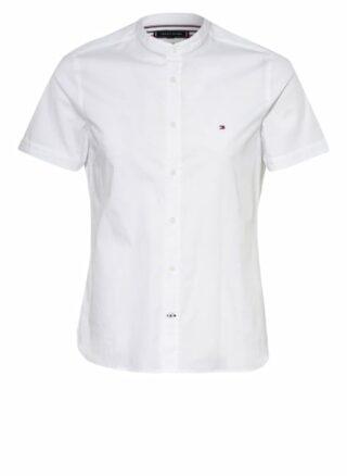 Tommy Hilfiger Kurzarm-Hemd Herren, Weiß