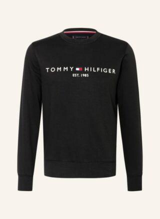 Tommy Hilfiger Sweatshirt Herren, Schwarz