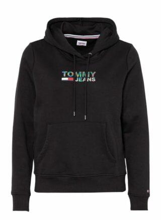 Tommy Jeans Hoodie Damen, Schwarz