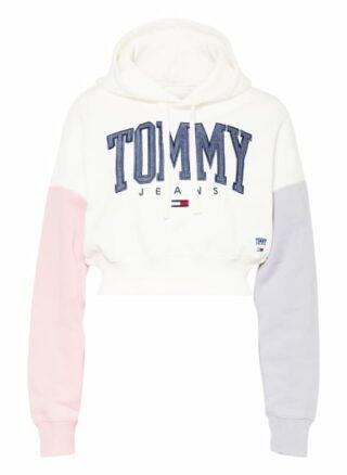 Tommy Jeans Hoodie Damen, Weiß