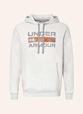 Under Armour Ua Rival Fleece Box Hoodie Herren, Grau