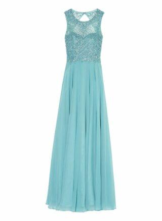 Unique Abendkleid Damen, Blau