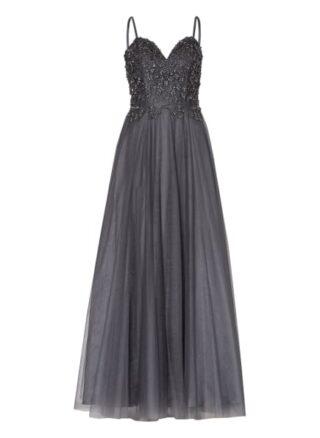 Unique Abendkleid Damen, Grau