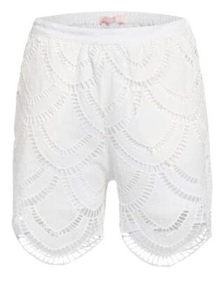 VALÉRIE KHALFON Sany Shorts Damen, Weiß