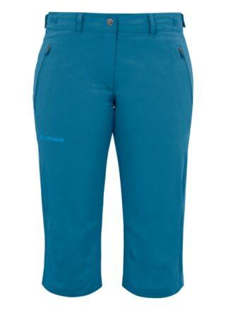 Vaude W Farley Stretch Capri Ii Leggings Damen, Blau
