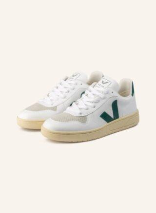 Veja V-10 Cwl Sneaker Damen, Grün