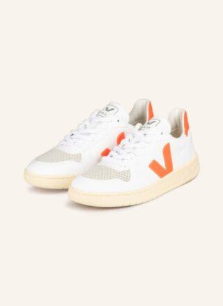 Veja V-10 Cwl Sneaker Damen, Orange