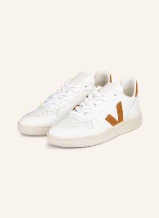Veja V-10 Sneaker Damen, Braun