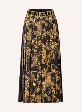 Versace Jeans Couture A-Linien-Rock Damen, Schwarz