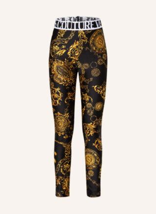 Versace Jeans Couture Leggings Damen, Schwarz