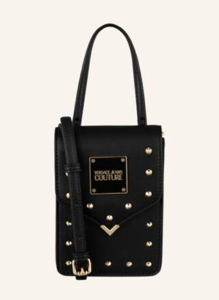 Versace Jeans Couture Studs Revotion Umhängetasche Damen, Schwarz