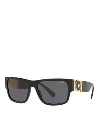 Versace ve4369 Sonnenbrille Damen, Schwarz
