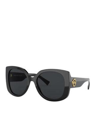 Versace ve4387 Sonnenbrille Damen, Schwarz