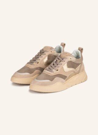 Voile blanche Joshee Plateau-Sneaker Damen, Gold