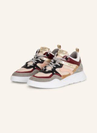 Voile blanche Juliette Plateau-Sneaker Damen, Rot