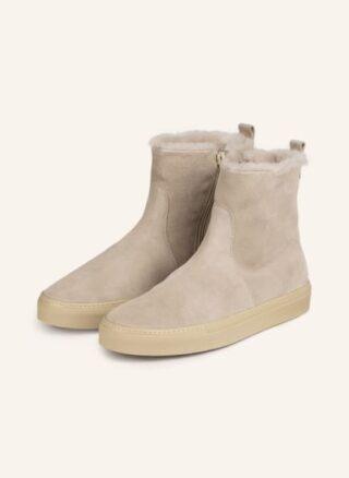 Voile blanche Maica Hightop-Sneaker Damen, Beige