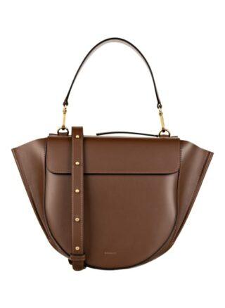 WANDLER Hortensia Medium Handtasche Damen, Braun
