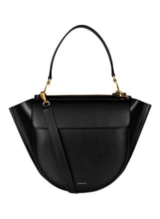 WANDLER Hortensia Medium Handtasche Damen, Schwarz