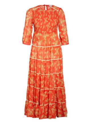 WATERCULT Patchwork Florals Strandkleid Damen, Rot