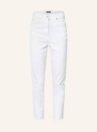 WHISTLES 7/8 Skinny Jeans Damen, Weiß